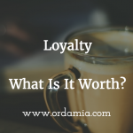 What is loyalty worth to coffee shops and business